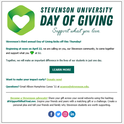 SU Day of Giving 2021