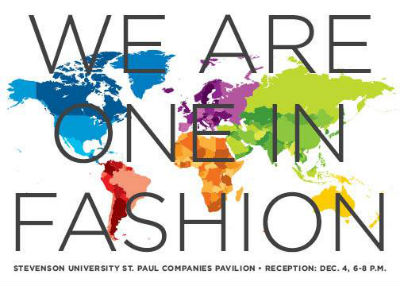 We Are One In Fashion Exhibit Reception Tonight Stevenson University