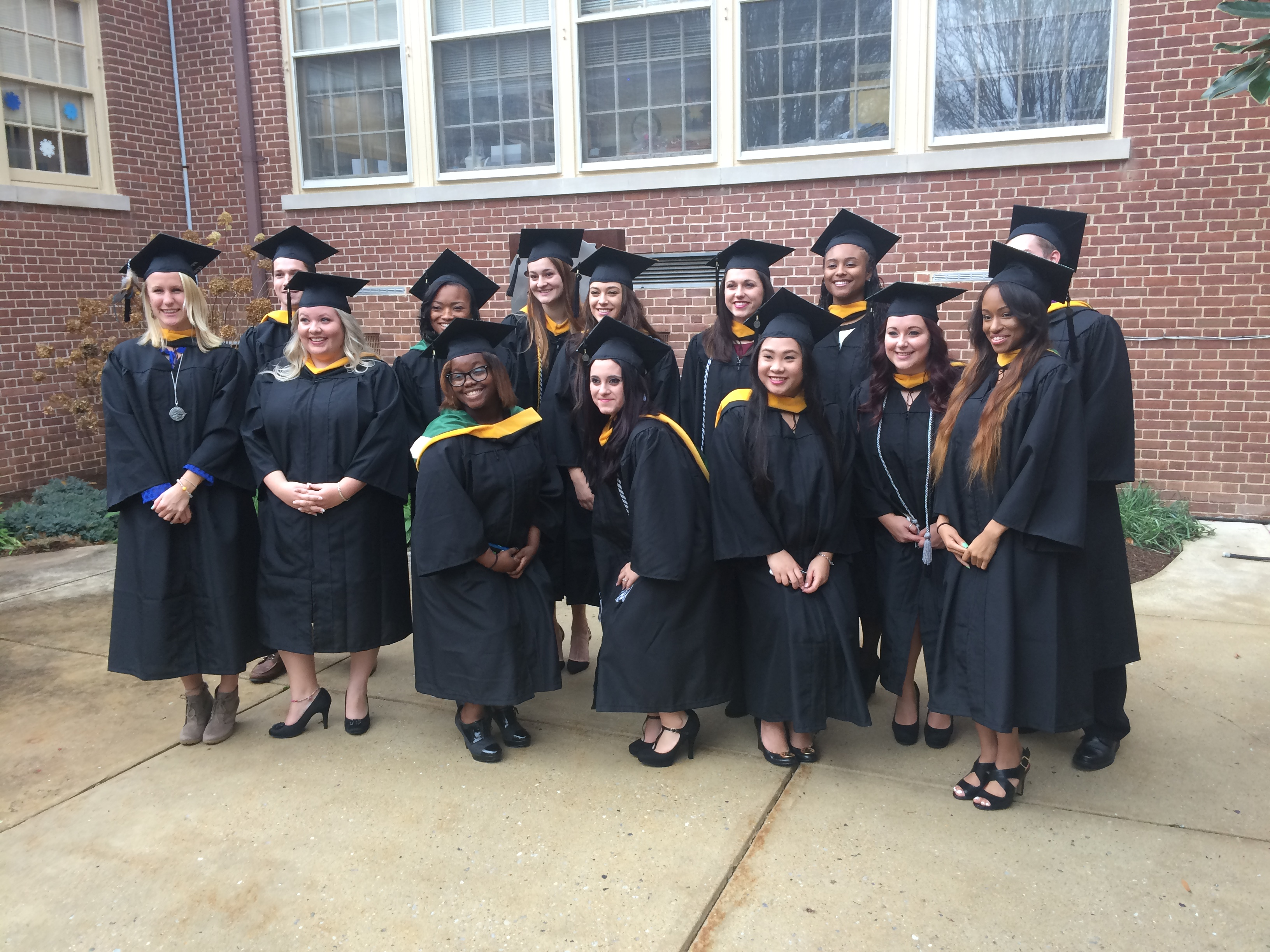 Psychology 2015 Fall Graduates