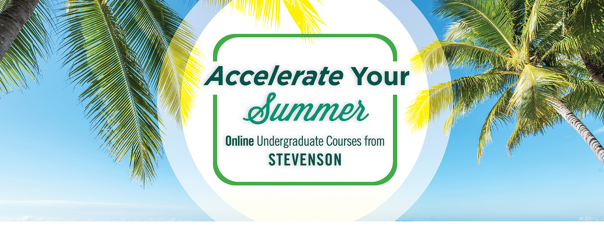 Accelerate Your Summer