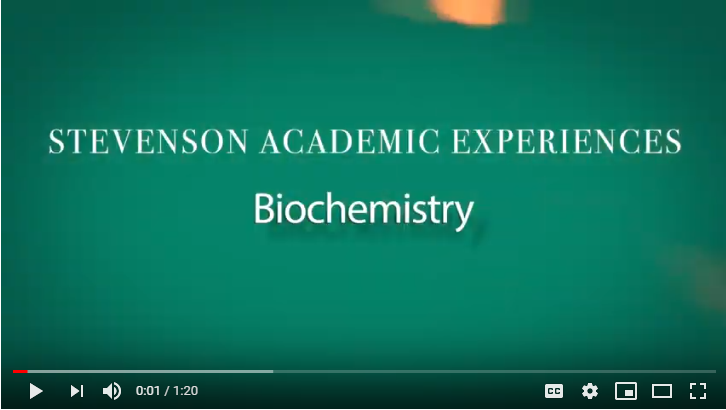 Link to biochemistry video