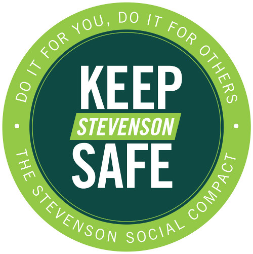 Keep Stevenson Safe badge