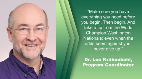 Lee Krahenbuhl Picture with Quote