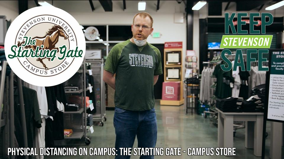 Physical Distancing: The Starting Gate - Campus Store