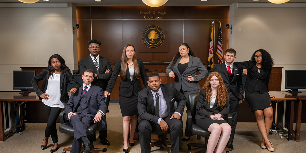 Stevenson Mock Trial students