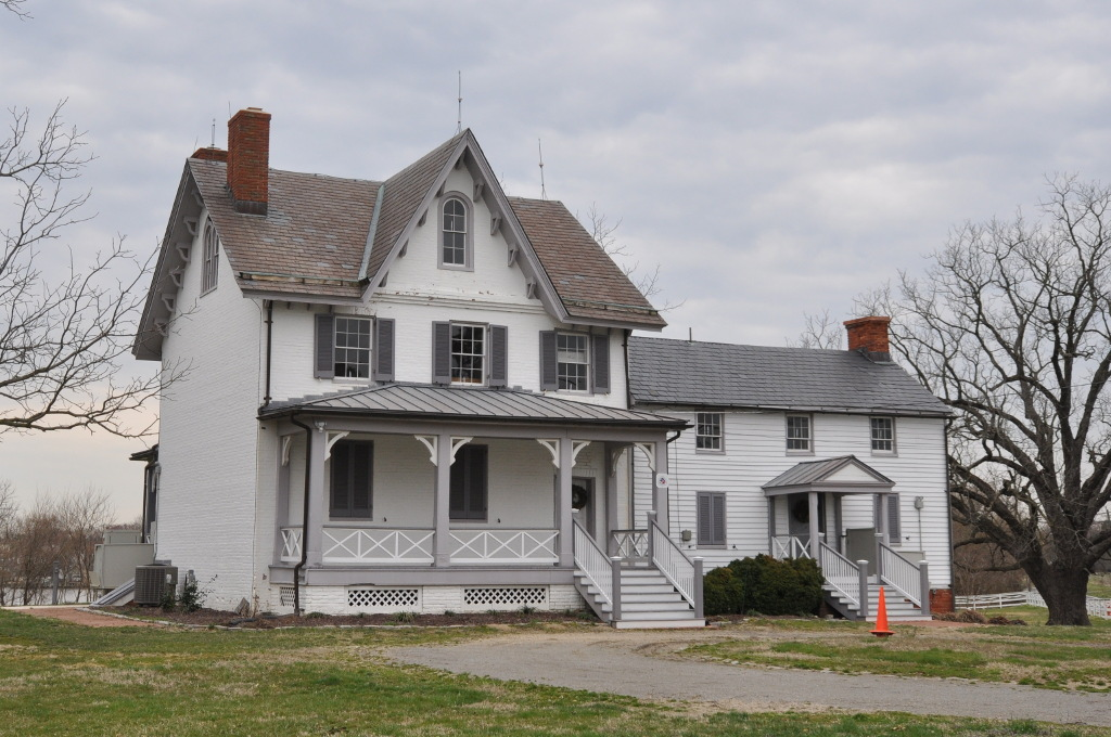 Photo of Todd's Inheritance house in Edgemere, Maryland.