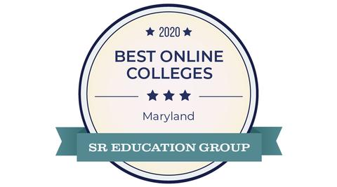 Best Maryland Online College 2020 SR Education Group Logo