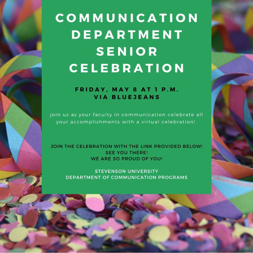 Senior Celebration flyer
