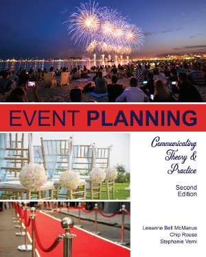 Cover of the second edition of event planning text