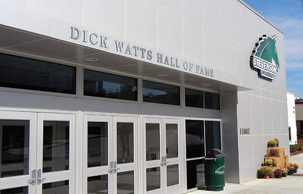 Dick Watts Hall of Fame Rendering