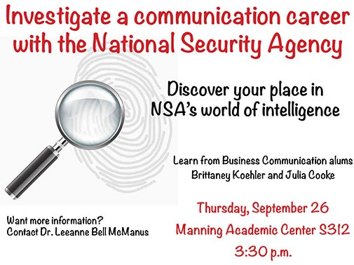 Learn about careers in the NSA