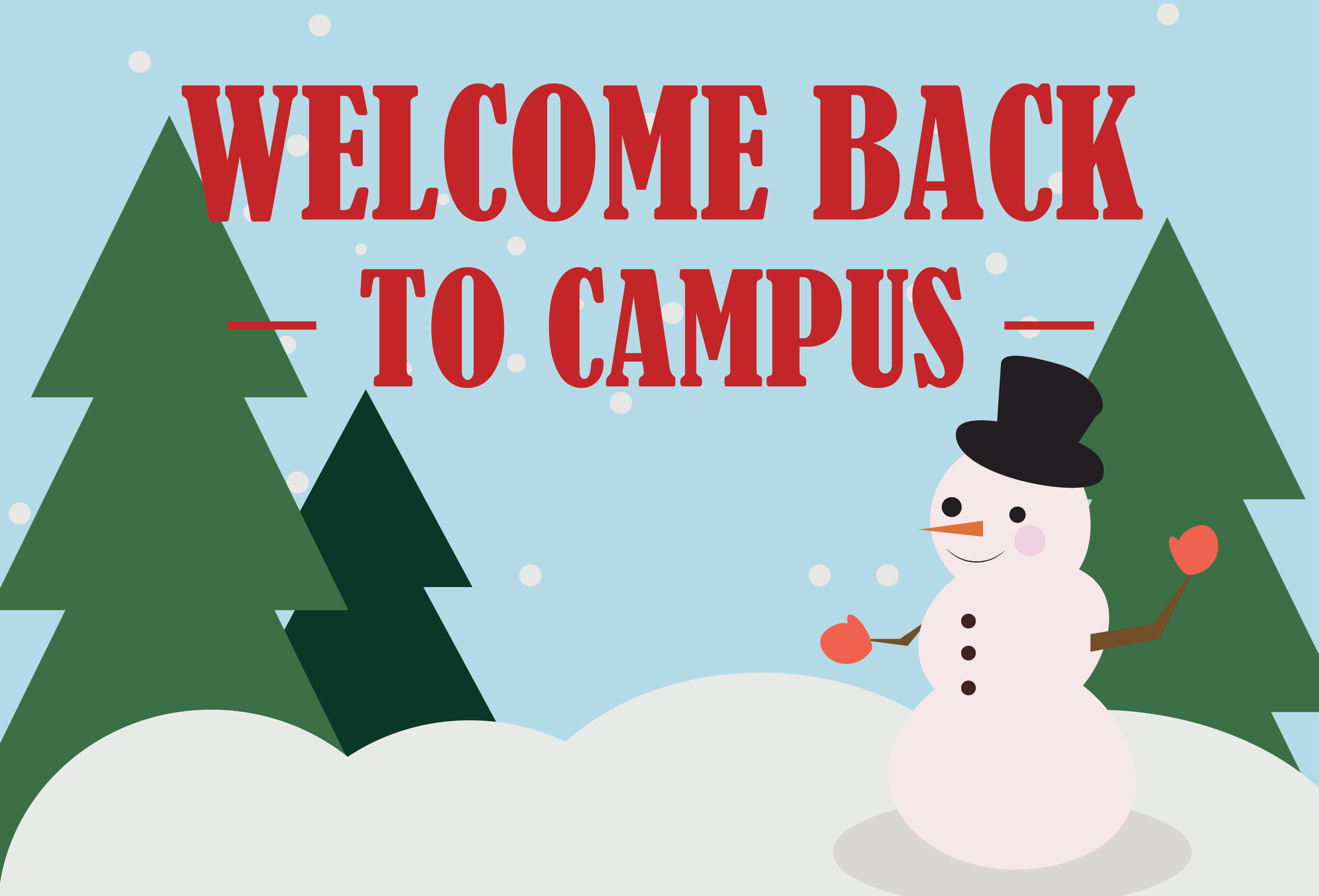 Welcome back to campus