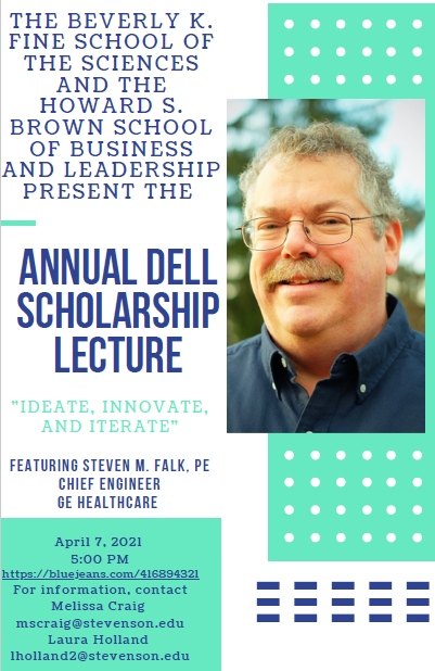 2021 Dell Lecture Flyer