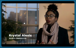 Krystal Alexis in career video