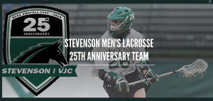 Men's lacrosse Anniversary Team