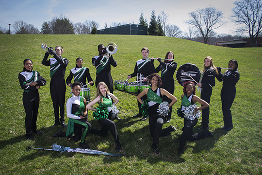 Marching Band Photoshoot