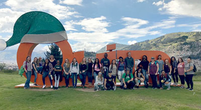 students in quito