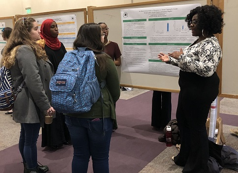 Psychology student research showcase