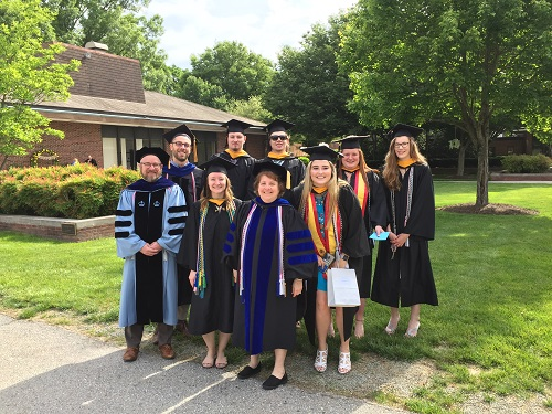 grads and faculty