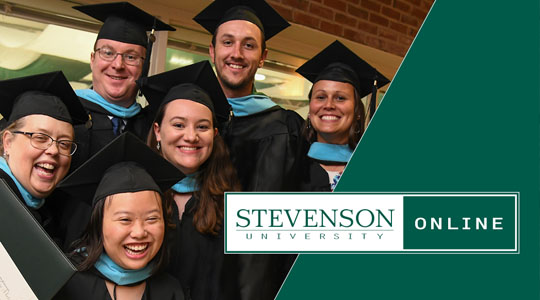 students graduating from Stevenson University
