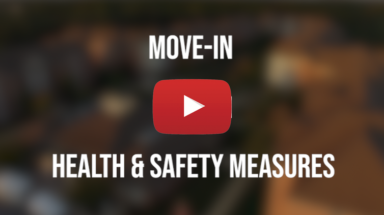 Move-in Health & Safety Measures