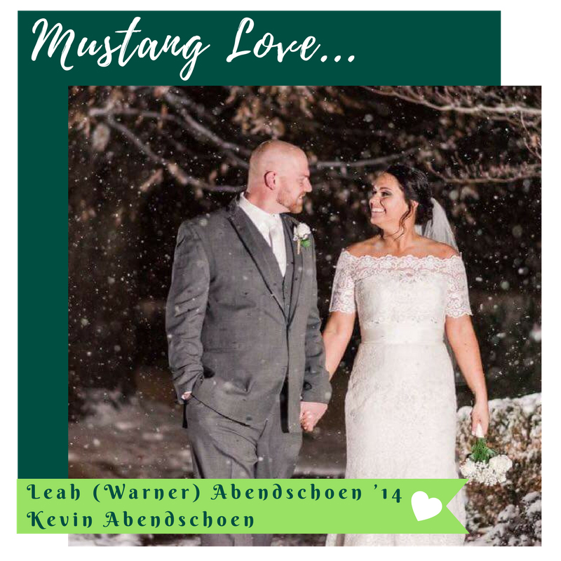 Leah (Warner) '14 and Kevin Abendschoen