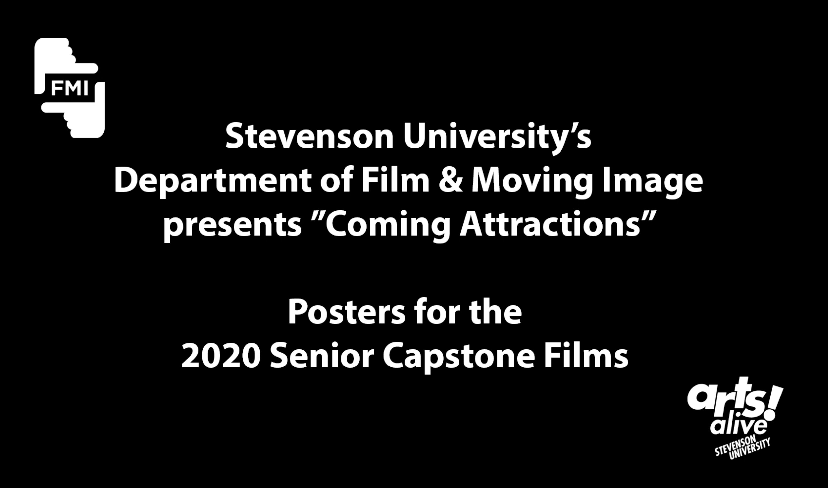 Coming Attractions 2020