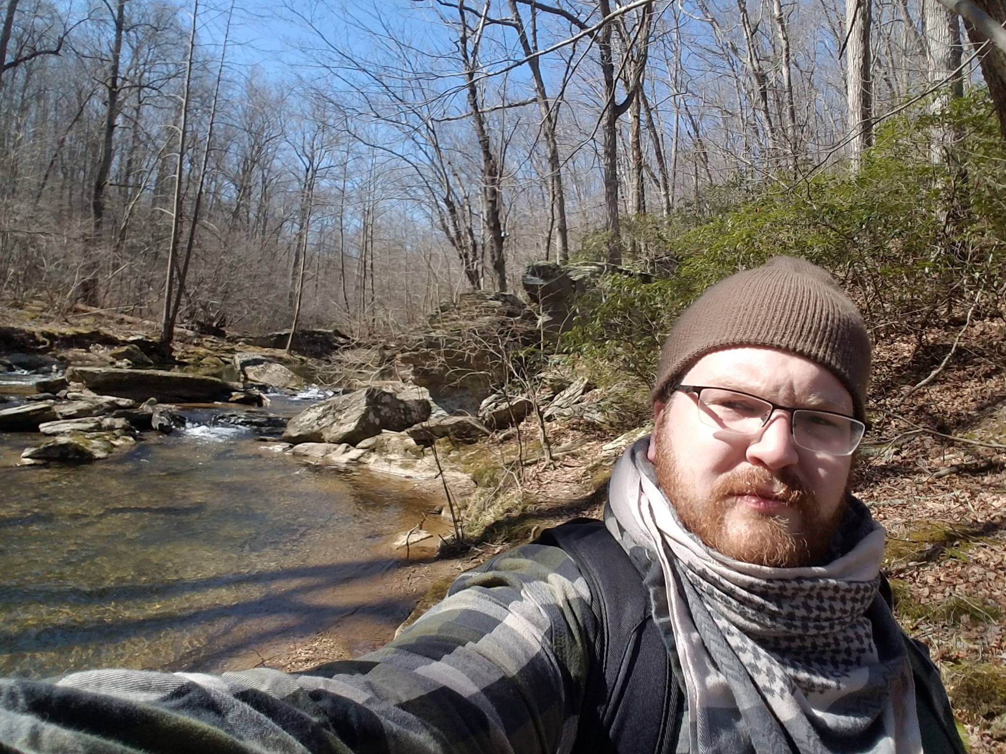 Picture of Matt Peiffer at Morgan Run Park in Carroll County, Maryland.