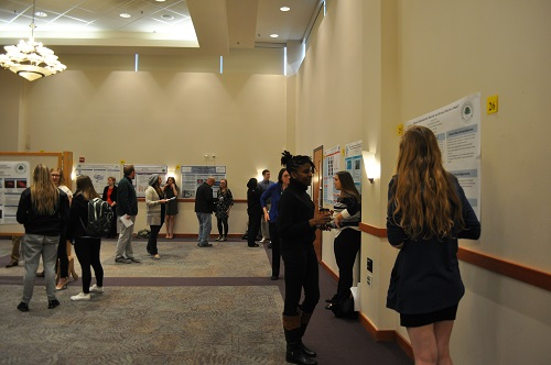poster session room